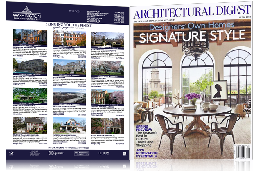 Property Advertisements: Architectural Digest