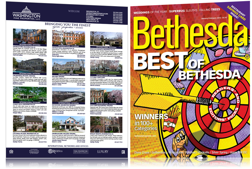 Property Advertisements: Bethesda Magazine