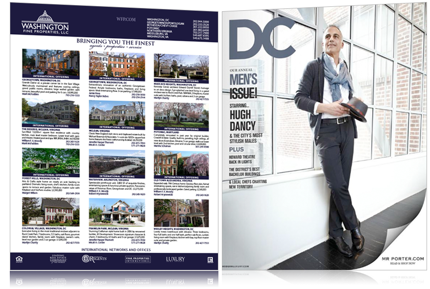 Property Advertisements: DC Magazine